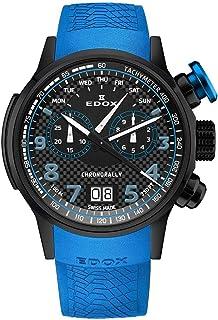 EDOX - Chronorally Reloj de Hombre Cuarzo 48mm 38001 TINNBU3 NIBU3