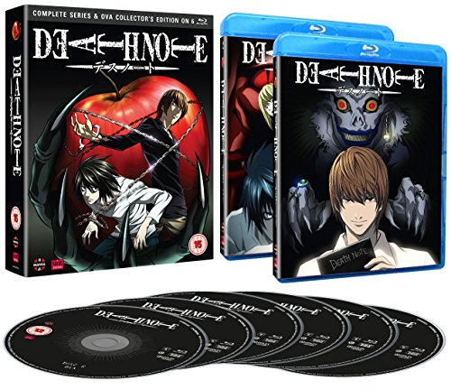 Death Note: Complete Series And Ova Collection [Blu-ray] [UK Import]