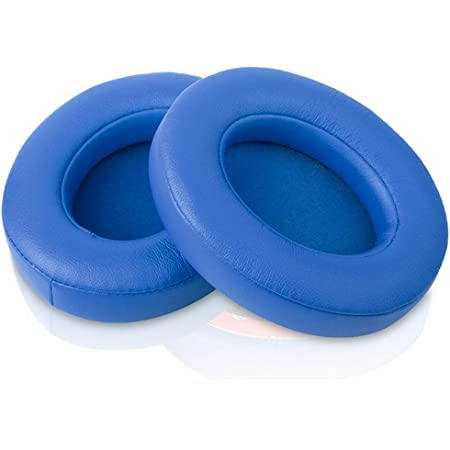 Beats Studio Replacement Ear Pads by Link Dream - Replacement Ear Cushions Memory Foam Earpads Cushion Cover for Beats Studio 2.0 Wired/Wireless B0500 / B0501 & Beats Studio 3.0, 2 Pieces (Blue)