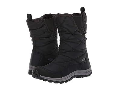 Keen Terradora Pull-On Waterproof Boot (Black/Raven) Women