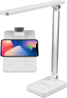 DP-1053 Touch Wireless Charging Desk Lamp, 5 Work Modes, 180 Degrees Horizontal and Vertical Adjustment, 900 lm LED Table Lamp