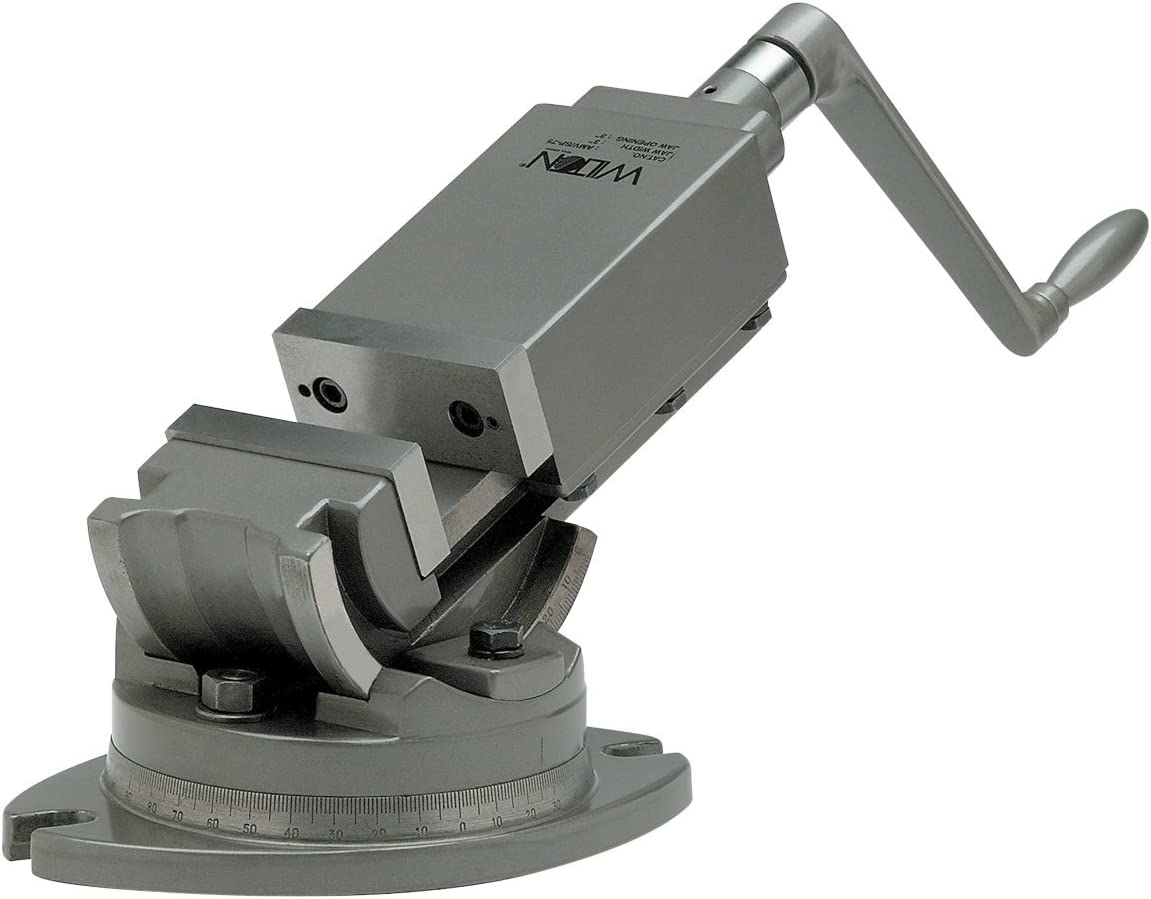 Wilton 11704 25% OFF 2-Axis Precision Max 71% OFF Angular Opening Vise 1 3-Inch Jaw