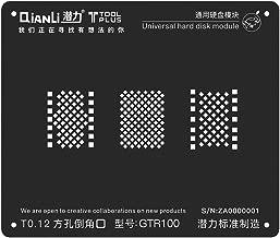 QianLi ToolPlus iBlack 3D BGA Reballing Stencil Template Universal Phone NAND Stencils Template for iPhone X 6 7 8 NAND Soldering Rework