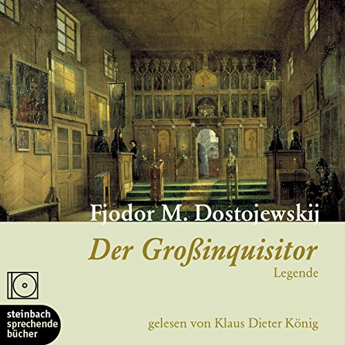 Der Großinquisitor audiobook cover art
