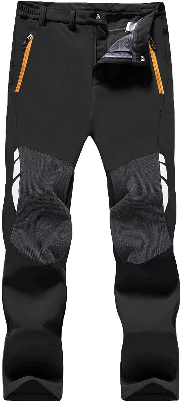 MAGCOMSEN Men's Snow Pants 1 year warranty Water Reinforce Zip Resistant Pockets New sales