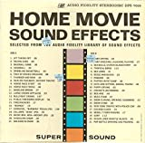 Home Video Sound Effects: Tracklist: Jet Taking Off, Racing Cars, Baseball Game, Handball, Dribbling...