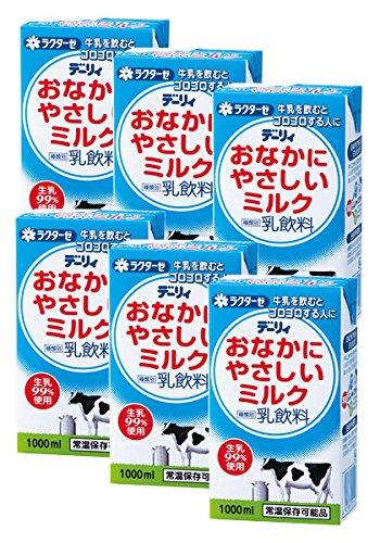 南日本酪農協同『デーリィ おなかにやさしいミルク 1000ml』
