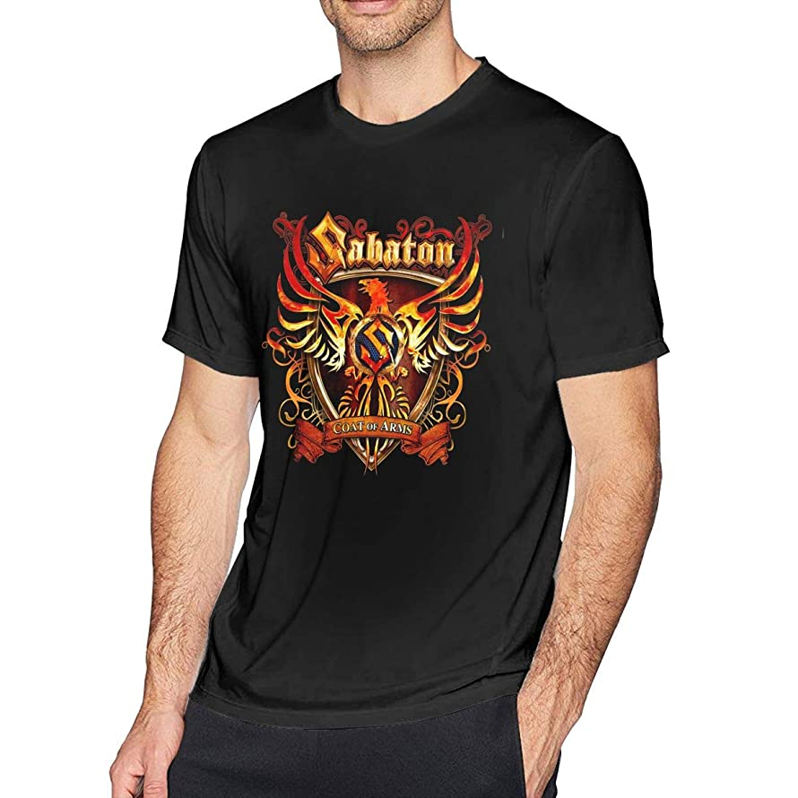 Men's Comfortable Soft T-Shirt - Sabaton Coat of Arms