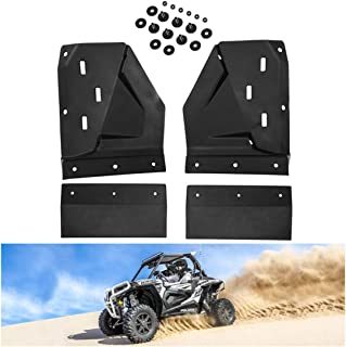 KIWI MASTER Front Mud Guards Compatible for Polaris RZR XP/4 1000 S 900 Turbo 2014-2019 Extended Mud Flaps Guard Fenders Flares