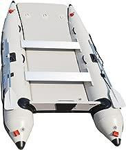 BRIS 11 ft Inflatable Catamaran Inflatable Boat Inflatable Dinghy Mini Cat Boat Gray