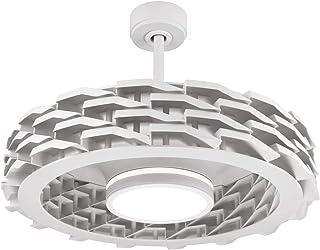 Sulion Ventilador de Techo Rubik - Sin aspas/Motor DC/iFeel/Ultra-silencioso (Blanco)