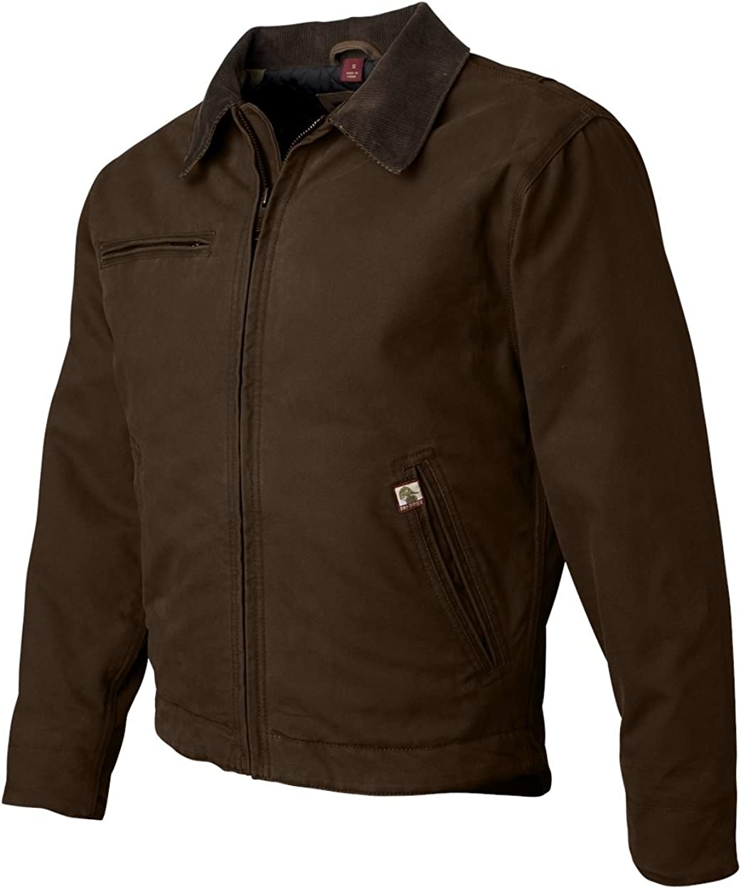 DRI Duck Men's 5087 / 5087T Outlaw Boulder Cloth Work Jacket with Corduroy Collar