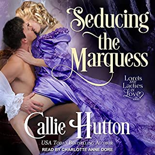 Seducing the Marquess audiobook cover art