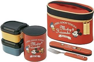 保温弁当箱 560ml ランチジャー ミッキーマウス タイムレスメモリー ディズニー KCLJC6