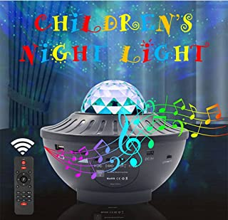 LED Star Projector - A Fun and Colorful Sky Star Projector for Kids. A Galaxy Projector, Led Night Lamp, Music Player and ...
