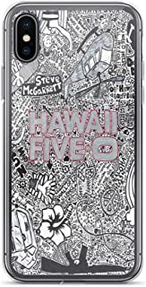 iPhone 7 Plus/iPhone 8 Plus Case Clear Anti-Scratch Hawaii Five-0, h50 Cover Phone Cases for iPhone 7 Plus, iPhone 8 Plus