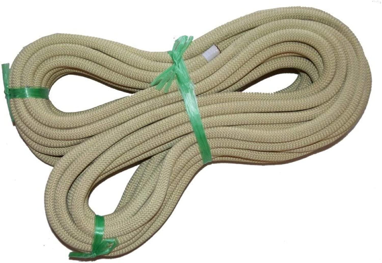 FQCD 10.5ミリメートルロッククライミングロープ高強度アクセサリーコード安全のためのアウトドアサバイバル、ハイキング、登山