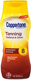 Coppertone *乳,SPF 8(8 液体盎司)(2 瓶装)