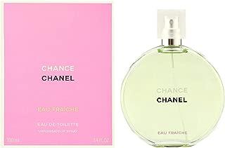 Chaneⅼ Chance Eau Fraiche Eau de Toilette Women Spray 3.4 Fl. OZ. / 100ML.