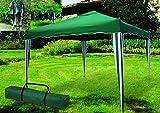 ITALFROM - Cenador telescópico Plegable de Exterior de 3x 3 Metros, Color Verde, para acampadas, Playas, Jardines, etc.