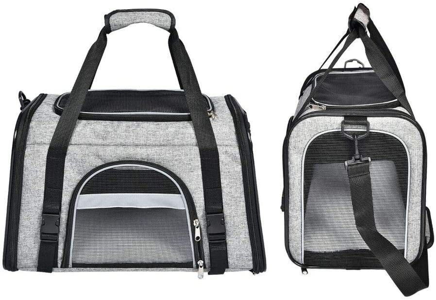 Pet Carrier Cat Dog Puppy Soft Comfort Washington Mall Sided Portable Large Trav Discount is also underway