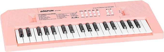 M SANMERSEN Keyboard with Microphone, Musical Piano Keyboard