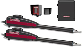 Liftmaster LA400PKGU Dual Swing Automatic Gate Opener Kit, Battery Backup, Receiver & Photocell Included!