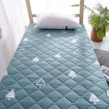 Printed Washed Tatami Futon Mattress Student Dormitory Tatami Mattress Travel Bed,Japanese Quilting Tatami Mattress Foldab...