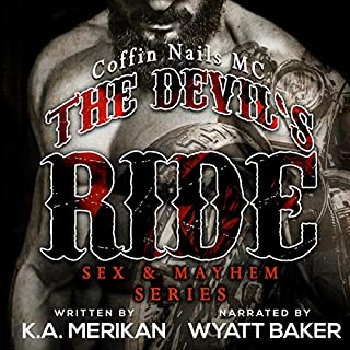 The Devil's Ride audiobook cover art