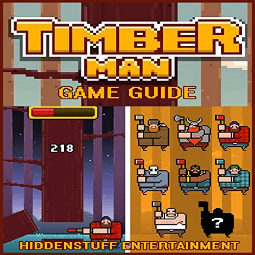 Timberman Game Guide audiobook cover art