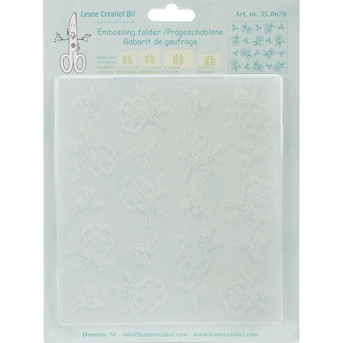 Lea'bilities Embossing Folder, Blossom