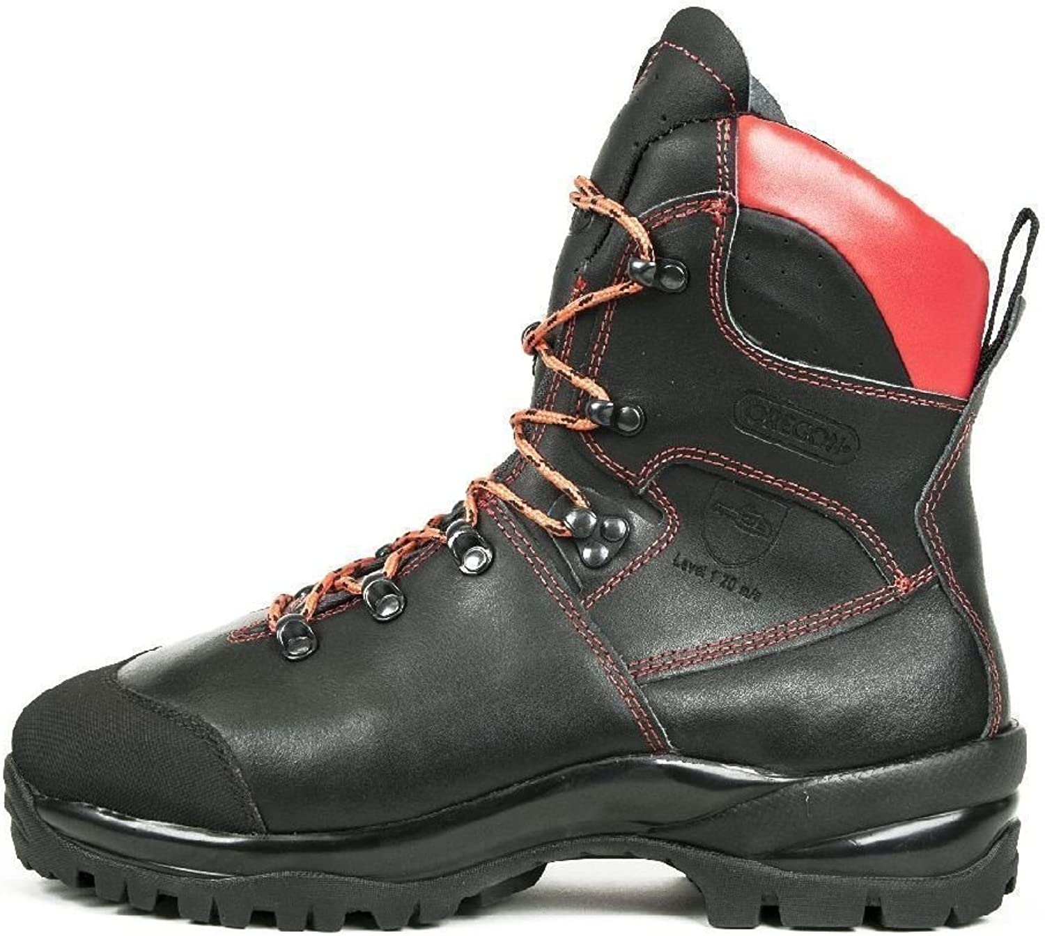 Oregon Waipua Leather Chainsaw Safety Boots svart 295479 295479 295479 Water Repell  detaljhandel