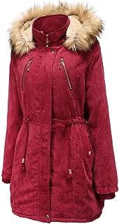 Winter Coat Plush Hoodie Women OverWinter Wind Jacket Sport Parker Jacket Fashion Winter Jacket Ladies Knit Coat