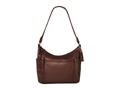 The Sak Keira Hobo by the Sak Collective (Mahogany Embossed) Hobo Handbags