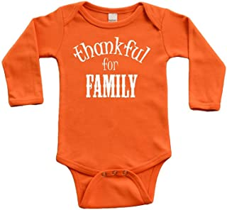 thankful for family onesie