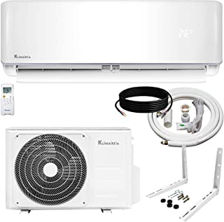 Klimaire 18,000 BTU KSIV 19 SEER Ductless Mini-Split Inverter Air Conditioner Heat Pump System with 15-ft Installation Kit 208/230V