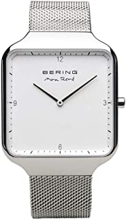 BERING Mens Analogue Quartz Watch with Stainless Steel Strap 15836-004