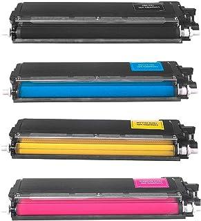 Kit Colorido 4 Cores Toner Compatível TN210 para Brother HL-3040CN MFC-9120CN 9320CW 9010CN