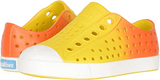 Crayon Yellow/Shell White/Fire Metallic Ombre