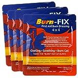 Burn-FIX- 4 Pack-Burn Gel Dressing 4