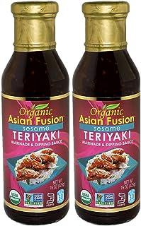Organic Asian Fusion Sesame Teriyaki Sauce – USDA Organic, Non GMO Project..