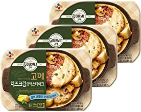 [CJ] CJ Gourmet Cheese Cream Hambak Steak 180g × 3 packs / / Korean food / K-food (overseas direct shipment)