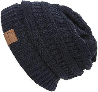 Women's Thick Soft Knit Beanie Cap Hat