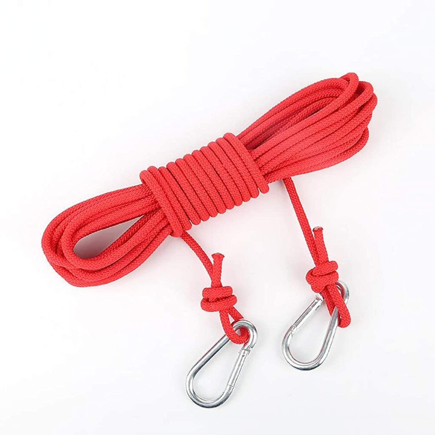 Rope Outdoor Climbing Rope, 6mm Clothesline Outdoor Hanging Clothes Rope Drying Quilt Windproof NonSlip Safety Rope, 15m   10m   5m (Size   5m)