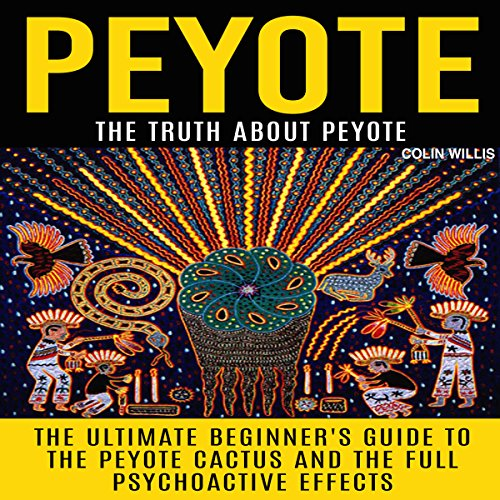 Peyote audiobook cover art