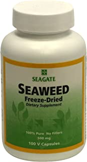 Seagate Products Freeze-Dried Seaweed 500 mg 100 Capsules (pack of 1)