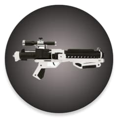Turn your device into a real stormtrooper blaster! Cool sound and graphic effects. Fun to play with.