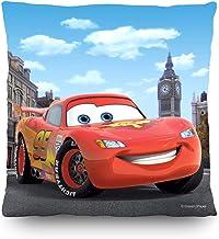 AG Design - Decorative Cushion - Disney Cars - Decorative Cushion with Cover - 40 x 40 cm/ 16 x 16 Inches - 1 Piece - CND ...