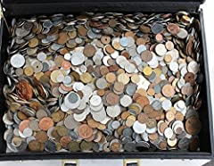 You get randomly picked 50 different coins from all over the world. No repetitive coins! Half pound coin collection. Only different old coins in a velour string bag. 1/2 pound coin selection consists of circulated foreign coins from around the world ...