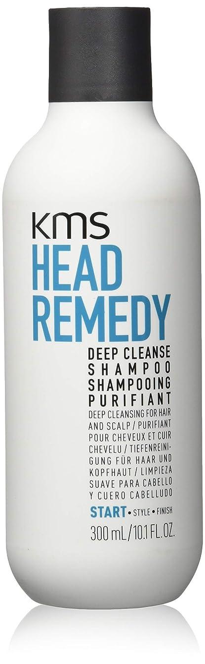 オーバーフロー仕方論争的KMSカリフォルニア Head Remedy Deep Cleanse Shampoo (Deep Cleansing For Hair and Scalp) 300ml